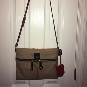 Henri Bendel Jettsetter convertible messenger bag